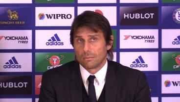 Antonio Conte, A Notoriously Strict Coach, Has A Priceless Reaction To Diego Costa Eating Cake
