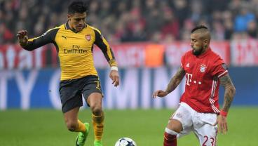 Alexis Sanchez and Arturo Vidal