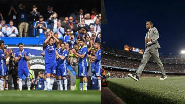 John Terry Awards Himself A Guard Of Honor While Luis Enrique Bows Out The Back Door