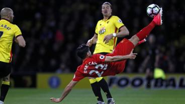 Emre Can's Bicycle Kick Against Watford Named EPL Goal Of The Season