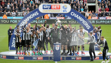 On average, how long do promoted sides stay in the Premier League?