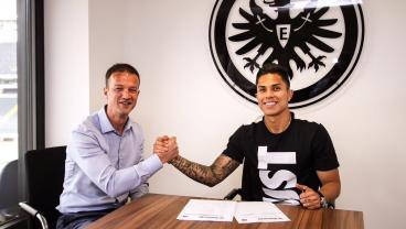 Carlos Salcedo Is Moving To Eintracht Frankfurt On Loan