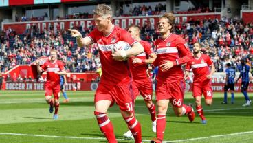 With Schweinsteiger In The Midfield, The Chicago Fire Are, Ahem, On Fire