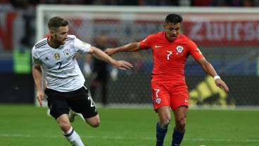 Arsenal Wins 1-1 Draw Between Germany And Chile