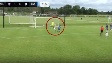 17-Year-Old Orlando City Forward Scores Breathtaking Overhead Kick