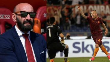 Monchi and Radja Nainggolan