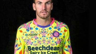Psychedelic Goalkeeping Kit Designed To Alter Striker's Consciousness