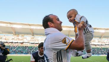Landon Donovan's Son Is A Jacked Baby And Going To Be Good At Soccer