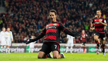 See Chicharito's Best Goals For Bayer Leverkusen Ahead Of His Move To West Ham