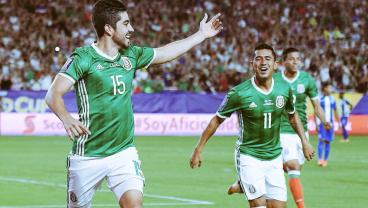 Mexico Put An End To 360 Minutes Of Scoreless Misery For Honduras