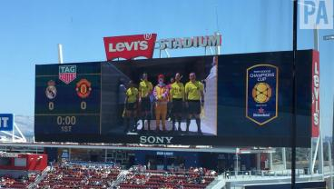 Ronald McDonald Overshadows Real Madrid vs. Manchester United