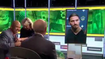 Zlatan Ibrahimovic Rips Tony Kornheiser For Mispronouncing His Name On PTI