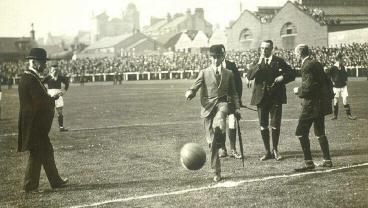 History of soccer tactics