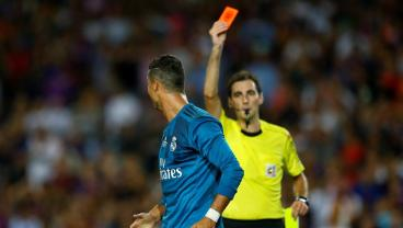 Cristiano Ronaldo Hit With Five-Game Ban For Shoving Referee