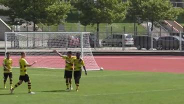 Amazing 12-Year-Old Scores Brace For Borussia Dortmund U17s