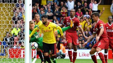 Liverpool defending