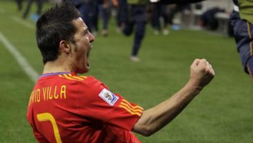 David Villa Earns Shock Spanish National Team Recall