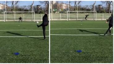 Keeper Uses His Face To Stop A Ronaldo-Esque Knuckleball