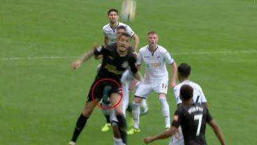 Renato Sanches Smashes Joselu In The Nutz On Premier League Debut