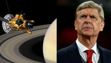 Like Cassini, Arsene Wenger's Time Is At An End