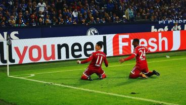 James Rodriguez Records First Goal And Assist For Bayern In Win Over Schalke