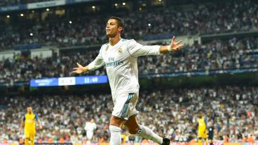 In His 400th Appearance For Real Madrid, Cristiano Ronaldo Nets A Brace