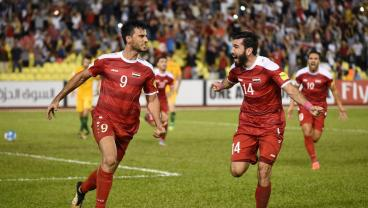 Late Penalty Drama Gives Syria Hope Heading Back To Australia In World Cup Playoff