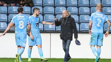 Coventry Fan Spends 20 Seconds On Pitch Trying To Win Ball Back And Berating Players