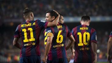 Xavi Says Neymar Told Him He Was Leaving Barcelona At Messi's Wedding