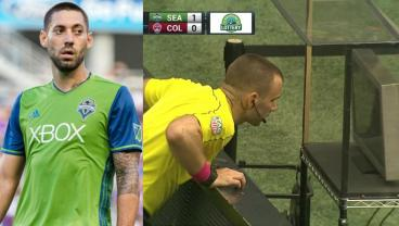 Clint Dempsey Goes Mental After Controversial VAR Red Card And Playoff Suspension