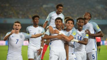 Liverpool's Rhian Brewster Hits Hat-Trick vs. Brazil To Send England To U-17 World Cup Final