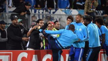 Patrice Evra Got Sent Off Before A Europa League Match For Kicking A Fan
