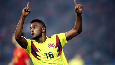 Miguel Borja Is Colombia's Next Big Thing. This Ridiculous Half-Volley Proves It