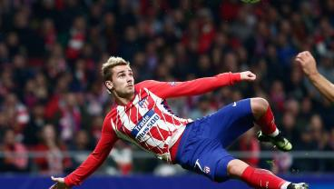 This Awesome Scissor-Kick Goal From Griezmann Is Tastier Than Your Momma's Thanksgiving Dinner