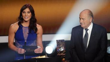 Sepp Blatter Denies Hope Solo Sexual Assault Claims On Grounds Of Solo's Credibility