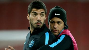 Luis Suarez Rules Out Neymar Madrid Switch Because Friends Don't Let Friends Cross Clasico Divide