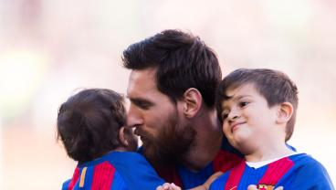 "According To Dad, Thiago Messi ""Is A Phenomenon,"" Mateo ""A Son Of A Bitch"""