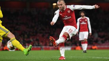 Is Jack Wilshere's Current Good Form Due To Ice Skating?