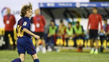 Barca U-13 Plays Like Messi, Looks Like Messi, Getting Hyped Like Messi