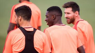 Barca Give Ousmane Dembele The Training Montage Treatment On Return
