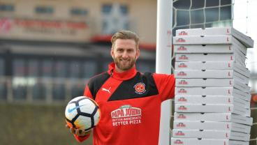 Goalie Earns Year's Supply Of Pizza For Shutting Out Leicester City