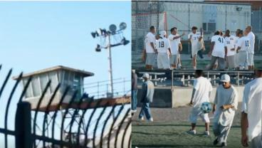 Soccer Incarcerated: San Jose Earthquakes Visit San Quentin State Prison