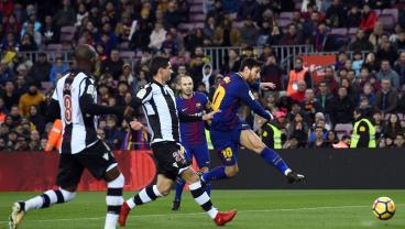 Lionel Messi Puts On Masterclass In 3-0 Barca Victory Over Levante