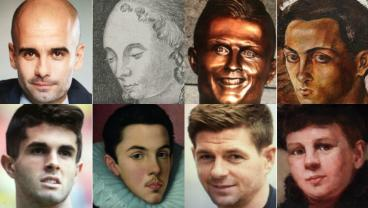 We Turned Footballers Into Museum Portraits And The Results Are Horrifying