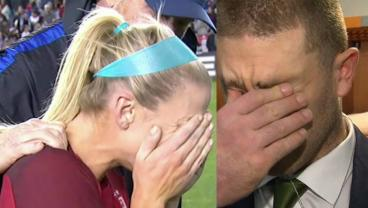 Julie Ertz Scores USWNT Game-Winner, Reacts To News Of Husband's Trip To Super Bowl