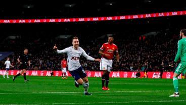 Christian Eriksen Scores The Fastest Goal Of EPL Season vs. Man United