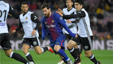 Fresh Off The Plane In Spain, Messi Sent Francis Coquelin Back To London