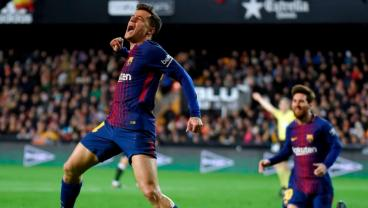 Philippe Coutinho's First Barcelona Goal Puts Club In Copa Del Rey Final