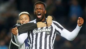 PAOK's Fernando Varela Scores, Shares Emotional Celebration With His Son, An Academy Player
