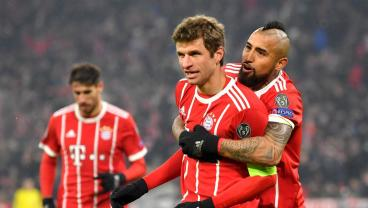 Lewandowski And Muller Braces Highlight Bayern's 5-Goal Rout Of Besiktas